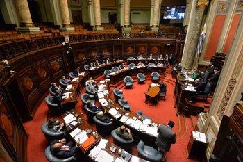 Archivo. Plenario de la Cámara de Senadores