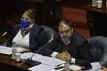 Los senadores del MPP cuestionan la pintada