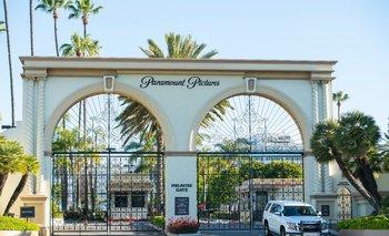 Los estudios Paramount, en Hollywood, el pasado 15 de abril