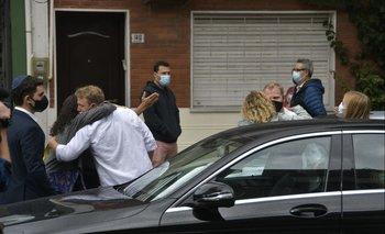 Familiares y allegados se despiden de Alberto Sonsol.