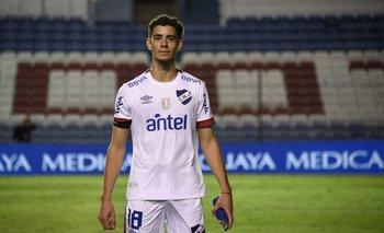 Nicolás Marichal, juvenil del Club Nacional de Football