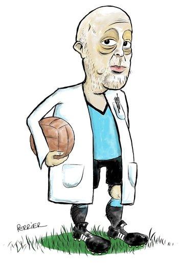 Caricatura de Rafael Radi