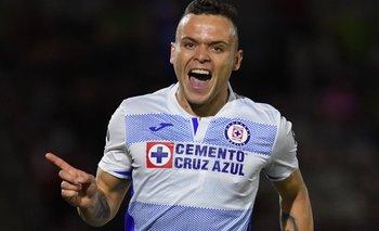 Jonathan Rodríguez, con un nuevo gol, consiguió un récord hasta ahora inalcanzable para Cruz Azul
