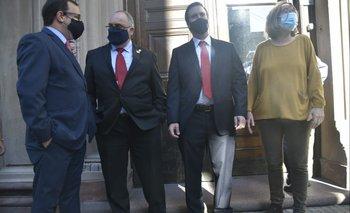 Colorados se reunieron este lunes con el ministro de Salud Pública