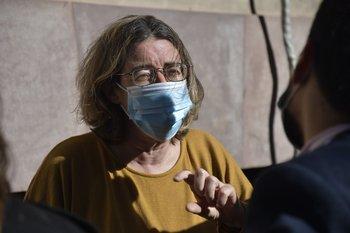 Nibia Reisch cuestionó la actitud de sus colegas ante la pandemia
