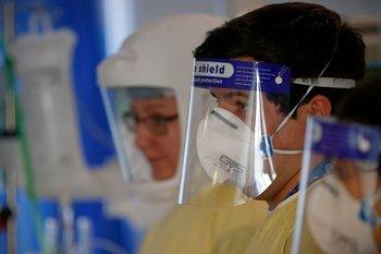 Este domingo la Sociedad de Intensivistas registró 532 camas ocupadas por pacientes con covid-19