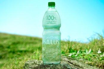 La Eco Botella es la única botella plástica del mercado sin etiqueta.