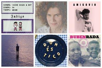 Las portadas de los seis discos recomendados que fueron lanzados en las últimas semanas