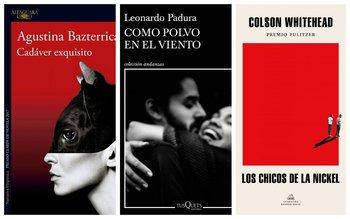 Tres de los libros seleccionados