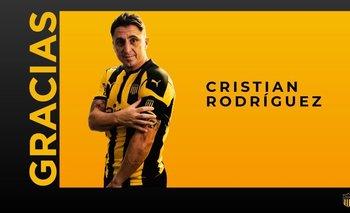 Así despidió Peñarol a Cebolla Rodríguez