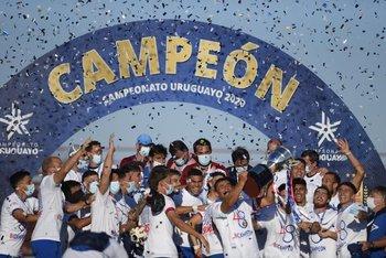 Nacional se consagró campeón del Uruguayo 2020