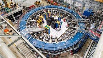 El experimento se realizó en el Fermilab.