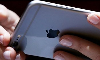 Foto de un iPhone.