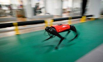 AlphaDog puede alcanzar una velocidad de 15 kilómetros por hora.