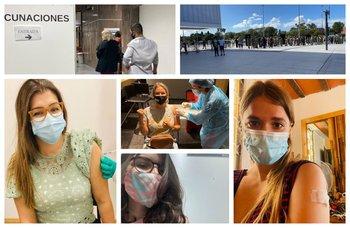 Lectores de El Observador que ya se vacunaron.