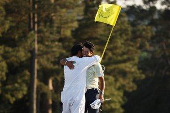 Hideki Matsuyama ganador del Master de Augusta de 2021