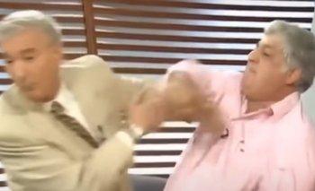 La pelea de Mauro Viale con Alberto Samid en 2002