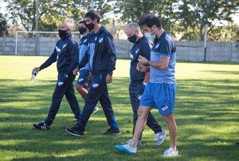 Cappuccio y su equipo en Los Céspedes