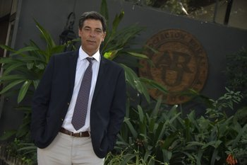 Gonzalo Valdés Requena, presidente de la Asociación Rural del Uruguay.