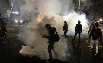 Protestas violentas en Estados Unidos