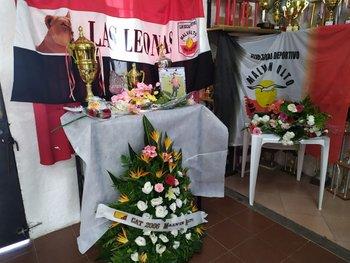 Homenaje que le realizó el club a Nadia