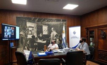 La Comisión de Riego sesionó por primera vez de forma virtual.