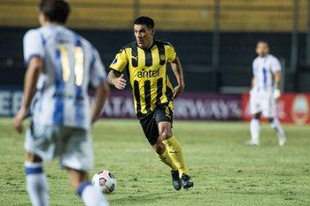 Maxi Pereira, cuota de experiencia