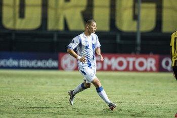 Facundo Núñez, debutante a los 15 años