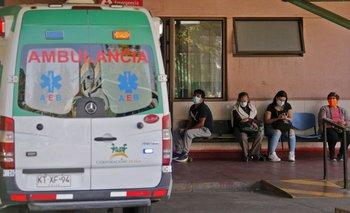 Los casos en Chile están en plena escalada