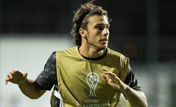El delantero de Peñarol viajó a Asunción