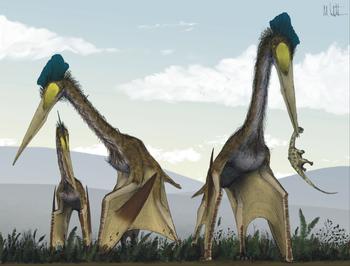 Reconstrucción digital de ptesaurios
