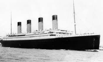 El Titanic partió del puerto de Southampton el 10 de abril de 1912