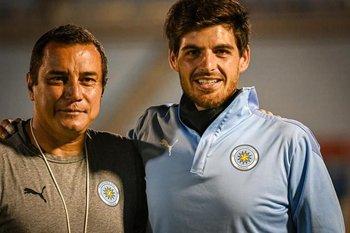 Adrián Rocamora (izq) y Tomás Marini