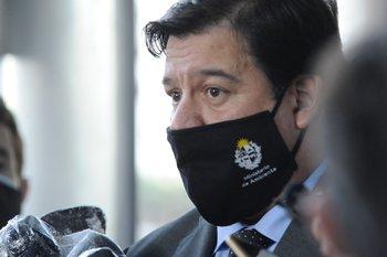 El ministro de Ambiente estuvo reunido este miércoles con el sindicato