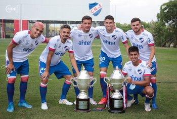 Nacional presentó el ganar para ir por el tricampeonato uruguayo, con seis ganadores de la Libertadores sub 20
