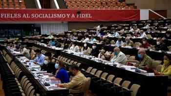 Participan unos 300 delegados del partido provenientes de todo el país.