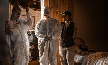 La imagen de Alejandro Persichetti que recrea la pintura de Blanes