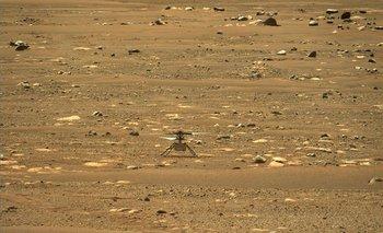 El Ingenuity se convirtió en el primer aparato en realizar un vuelo propulsado en otro planeta