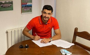 El Chory firmó en River Plate