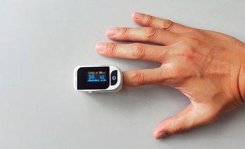 Oxímetro de pulso o saturómetro
