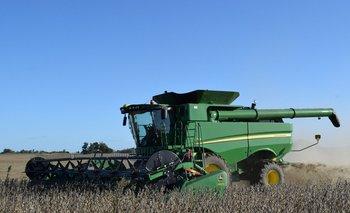 Se activó la cosecha de soja del ciclo 2020/2021.