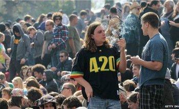 La legalización de la marihuana en varios estados de EE.UU. ha hecho que las celebraciones del 20 de abril ganen popularidad.