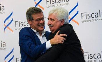 Juan Gómez se comprometió a trabajar por desarrollar el trabajo de los fiscales en el interior