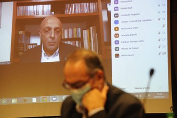 Coordinadores del GACH comparecieron de forma virtual ante la comisión de seguimiento covid del Senado