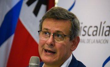 El fiscal de Corte, Jorge Díaz
