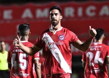 Ávalos, goleador de Argentinos Juniors