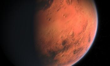 La atmósfera de Marte está compuesta en una 96% de dióxido de carbono