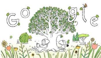 Así comienza el video del doodle de Google por el Día de la Tierra.
