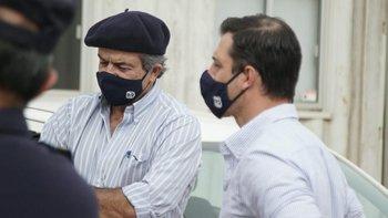 El ministro de Ganadería, Carlos María Uriarte y el director de Servicios Agrícolas, Leonardo Olivera, visitaron Nueva Palmira.