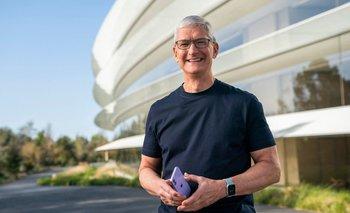 CEO de Apple, Tim Cook.